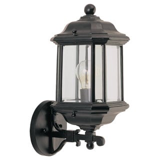 Kent Outdoor Black 1-Light Wall Lantern