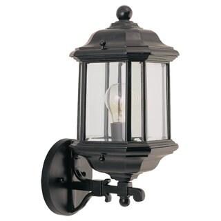 Kent Outdoor Black 1-Light Wall Lantern