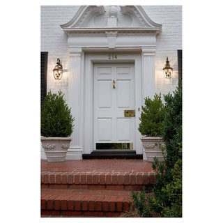 Lancaster Bronze Outdoor 2-Light Wall Lantern