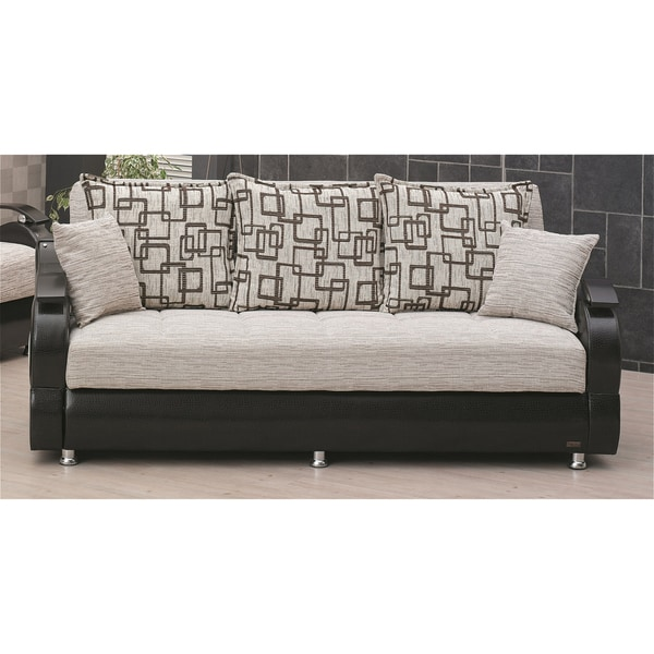 X27 Wisconsin Two Tone Traditional Sleeper Sofa Bed