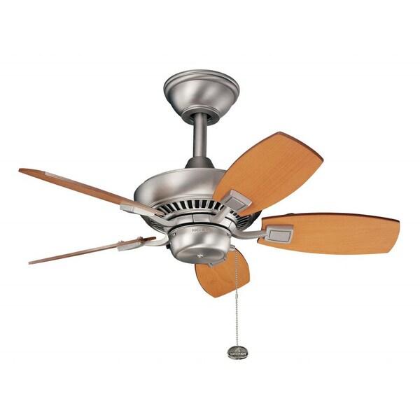 Nickel 5-Blade Ceiling Fan