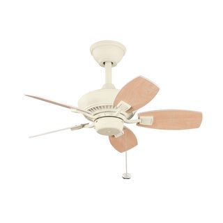 Three-Speed Five-Blade Ceiling Fan in Adobe Cream Finish