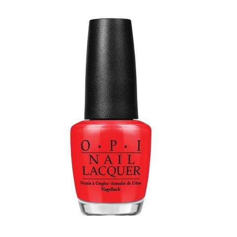 OPI The Thrill of Brazil Red Nail Lacquer