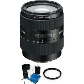 Sony 16-105mm f/3.5-5.6 DT Standard Zoom Lens Bundle