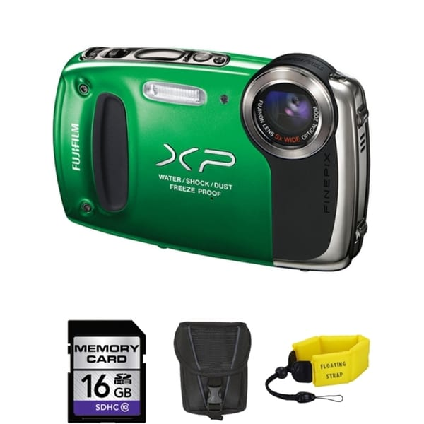 Fujifilm FinePix XP50 Waterproof Digital Camera Bundle