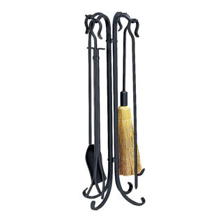 Blue Rhino UF Black Rustic 5-piece Fire Tool Set