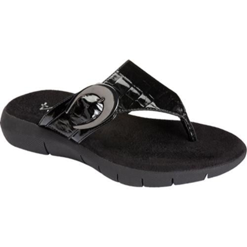 Women's A2 by Aerosoles Wipline Black Croco - Thumbnail 0