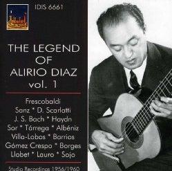FRESCOBALDI/SANTZ - LEGEND OF ALIRIO DIAZ VOL. 1