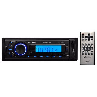 Pyle PLR27MPBU AM/FM Radio with SD/USB/MP3 Playback, 3.5mm Aux-In, Bluetooth Wireless Streaming