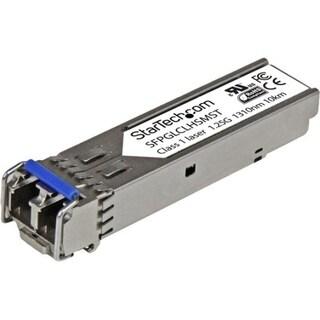 StarTech.com Cisco Compatible Gigabit Fiber SFP Transceiver Module SM