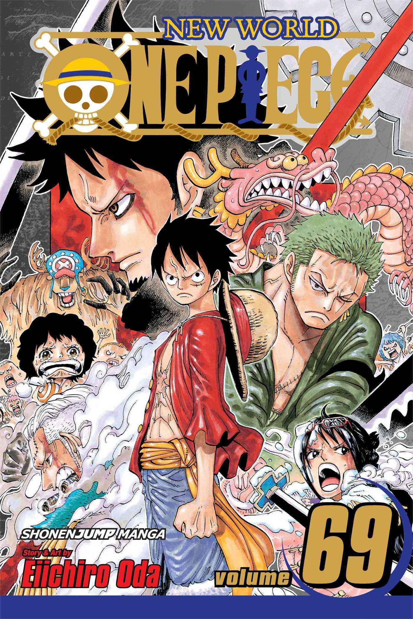 One Piece 69: New World (Paperback)