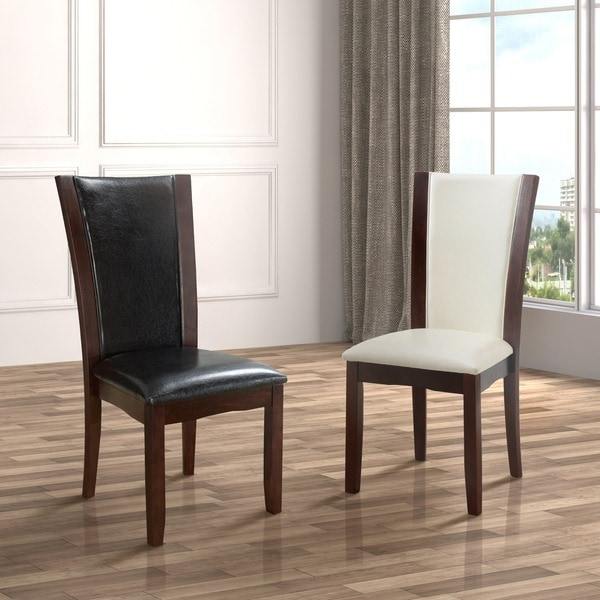 Furniture of America Mario Leatherette Dining Chairs Set  : Furniture of America Mario Leatherette Dining Chairs Set of 2 bfeeb73b 3952 460b 8c48 0959f95bc84d600 from www.overstock.com size 600 x 600 jpeg 61kB