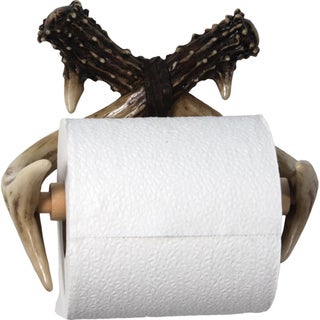 River's Edge Deer Antler Wall Mount Toilet Paper Holder