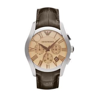 Emporio Armani Men's Brown Classic Amber Chronograph Watch