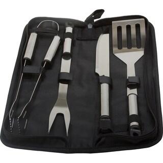 KitchenWorthy Stainless Steel 5-piece BBQ Tool Set