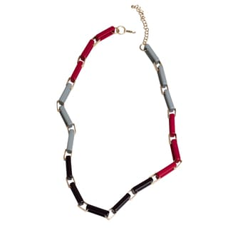NEXTE Jewelry Multi-colored Lucite Box Link Necklace