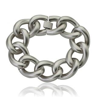 Riccova Colored Matte Heavy Link Chain Bracelet