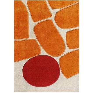 Alliyah Handmade Sand New Zealand Blend Wool Rug (9' x 12')