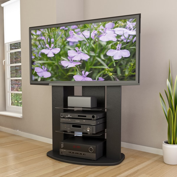 shop sonax t 108 xzt zurich vertical 65 inch tv stand with mount free shipping today. Black Bedroom Furniture Sets. Home Design Ideas