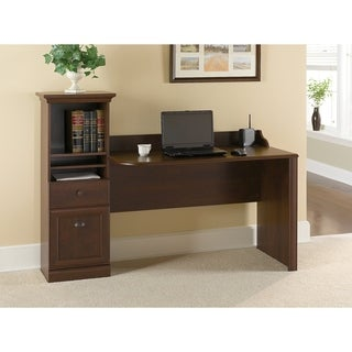 Bush Furniture Barton Computer Workstation Desk in Bing Cherry