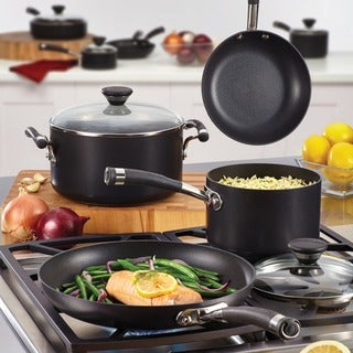 Circulon Acclaim Black Hard Anodized Skillet Set