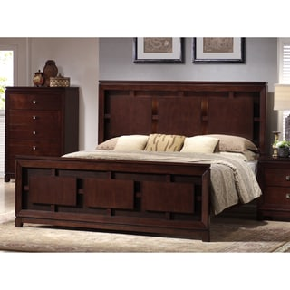 Picket House Lorrand Panel Bed with Backlighting