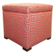 Tami Greece Atomic Storage Ottoman - Thumbnail 2