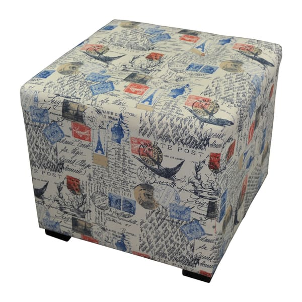 Magnificent Shop Merton Prime Printed Tufted Square Ottoman On Sale Alphanode Cool Chair Designs And Ideas Alphanodeonline