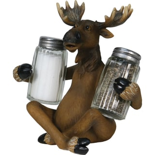 Rivers Edge Moose Salt and Pepper Shaker Set