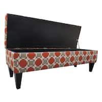 Sole Designs Button Tufted Storage Bench
