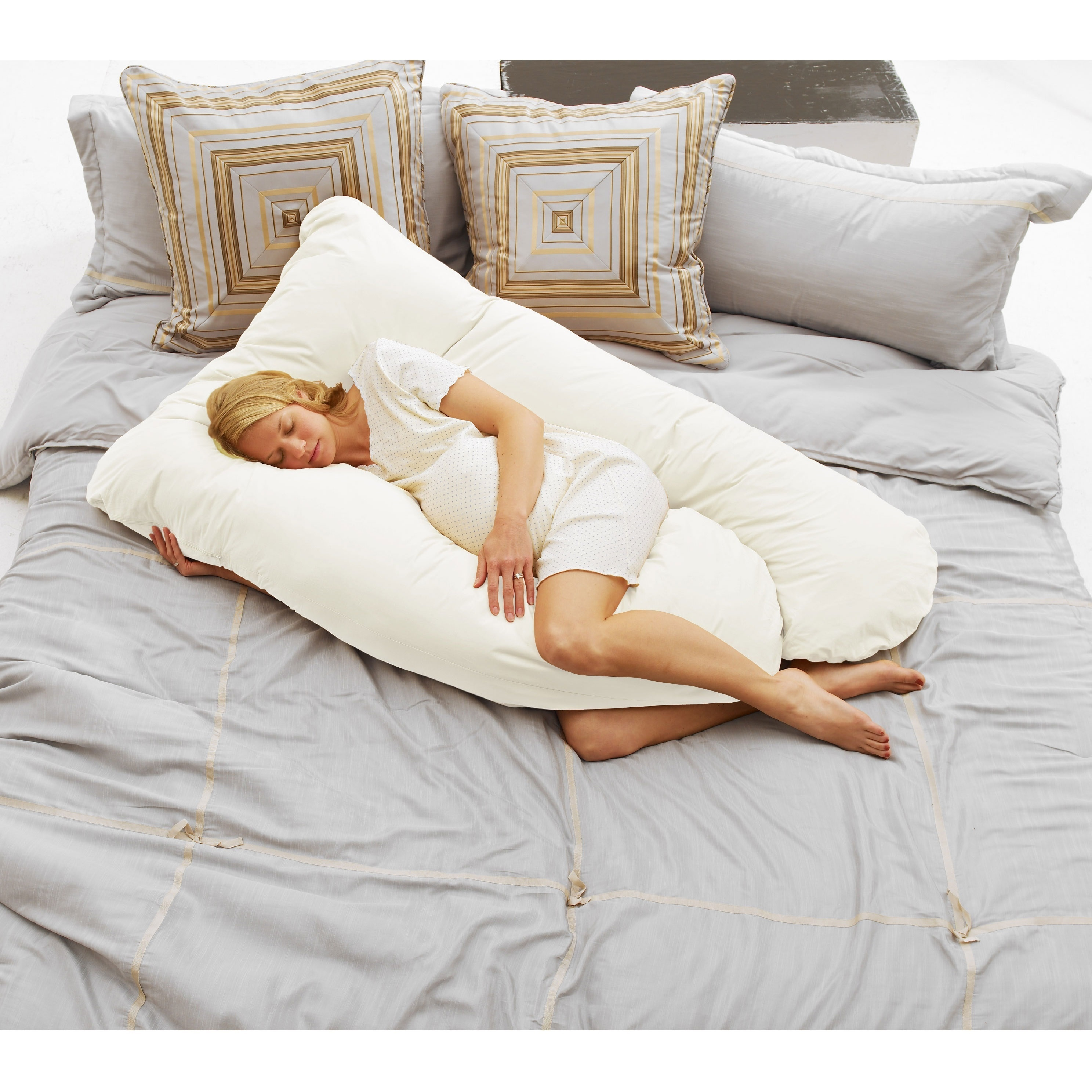 White Free Shipping! Inspired Mother Organic Cotton Maternity Pillow Case