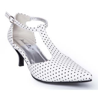 44d3c35ebb3 Buy White Women s Heels Online at Overstock