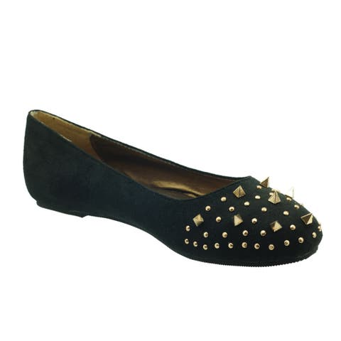 Ann Creek Women's 'Starland' Studded Vamp Flats