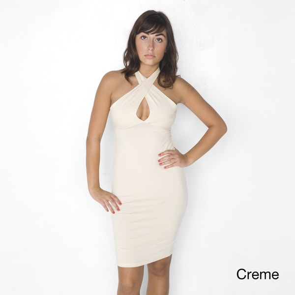 American Apparel Women's Jersey Bandeau Convertible Pencil Dress