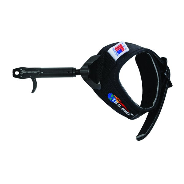 Tru Ball 'Predator' Black Leather Buckle Strap