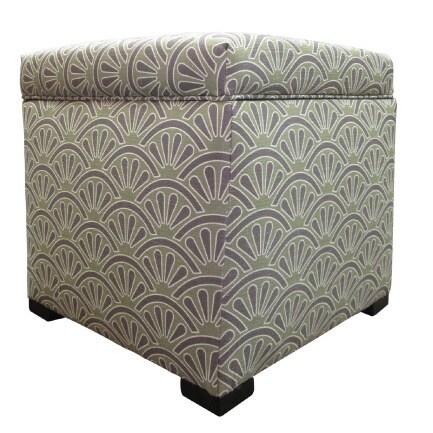 Tami Bonjour Upholstered Storage Ottoman