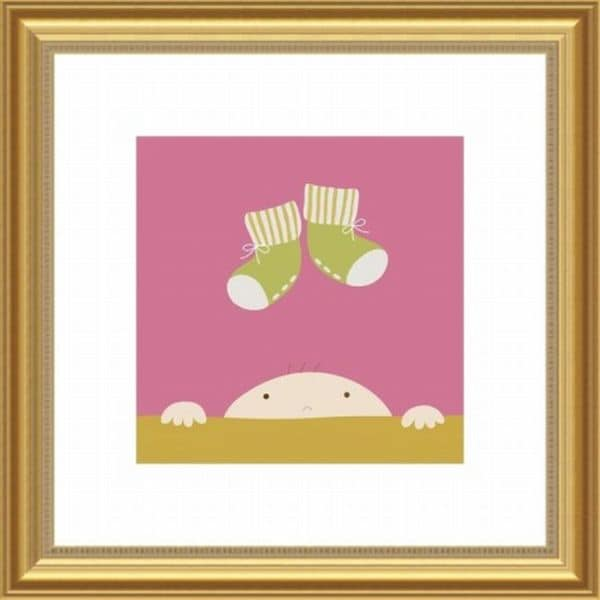 Yuko Lau 'Dress Me' Framed Print