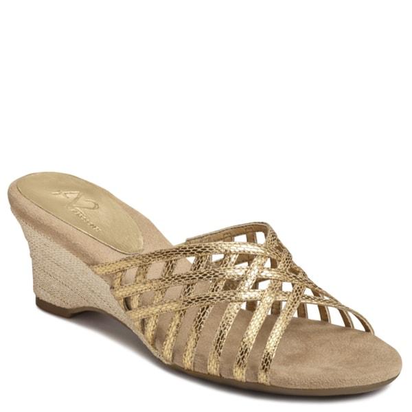 A2 by Aerosoles Women's 'Zentertainer' Snake Sandals