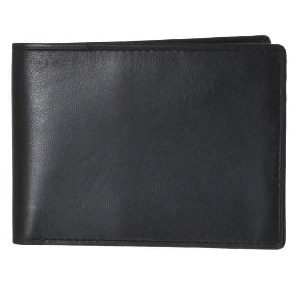 Joseph Abboud Men's Leather Slim Passcase Wallet