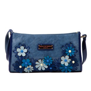 Nicole Lee Liv Flower Cutout Small Shoulder Bag