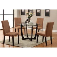 Tyga Saddle Dining Chairs (Set of 4)