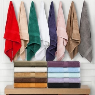 Superior Luxurious, Absorbent 900 GSM Combed Cotton 3-piece Towel Set