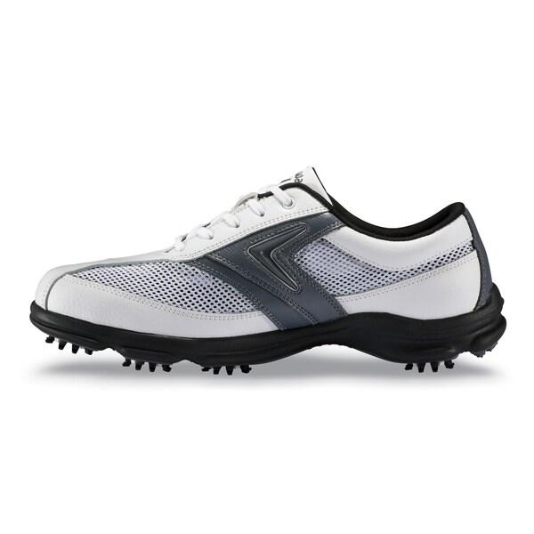 Callaway Men's 'C-Tech Summer' White/ Charcoal Golf Shoes