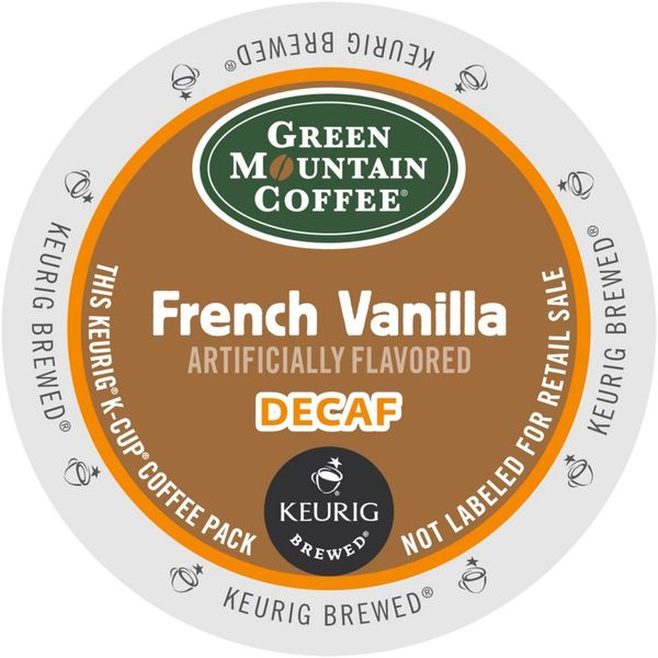 Green Mountain Coffee French Vanilla Decaf Cups for Keurig Brewers