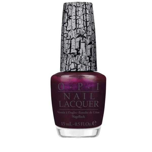 OPI Nicki Minaj Super Bass Shatter Purple Nail Lacquer