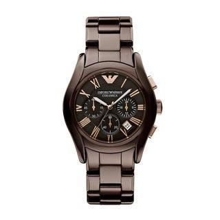 Emporio Armani Women's Brown Ceramic Watch