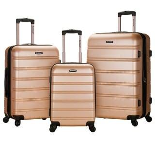 Rockland Melbourne Super Lightweight 3-piece Expandable Hardside Spinner Luggage Set