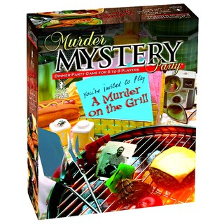 Murder on the Grill: Murder Mystery Party