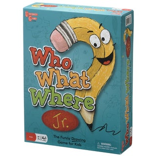 Who? What? Where? Junior Drawing Game