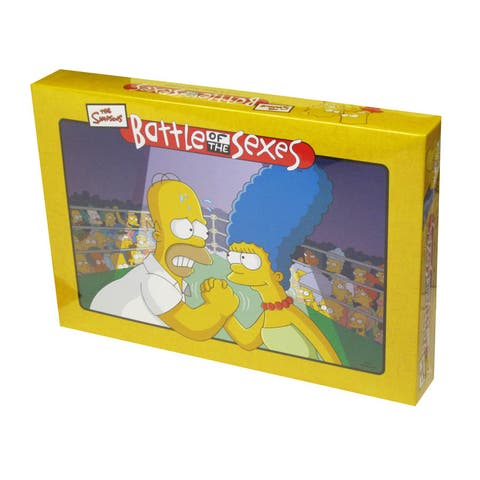 Battle of the Sexes: The Simpsons Edition Board Game